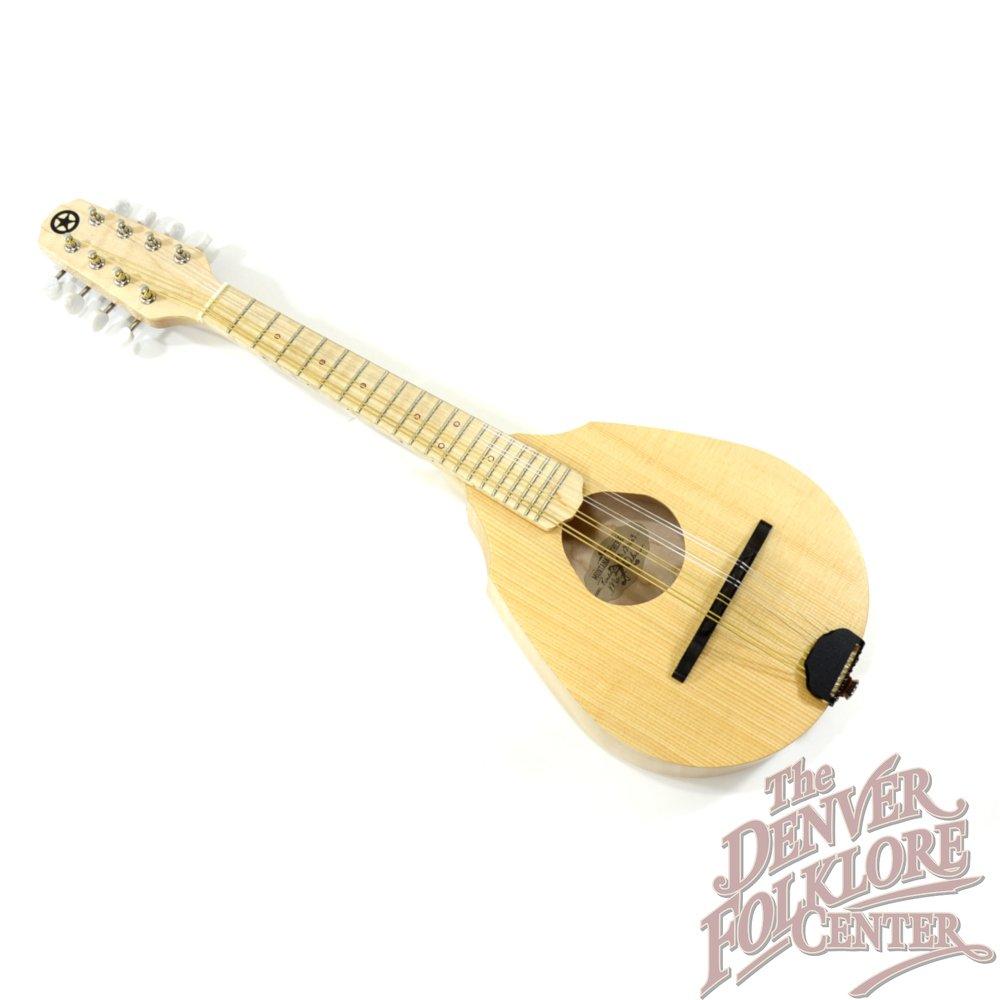 Ranger Travel Mandolin w/ Radiused Maple Fretboard