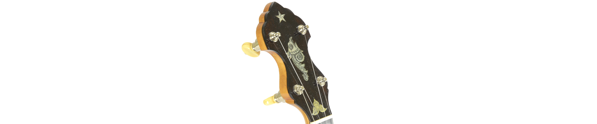 Gryphon Style Banjo Headstock Inlay