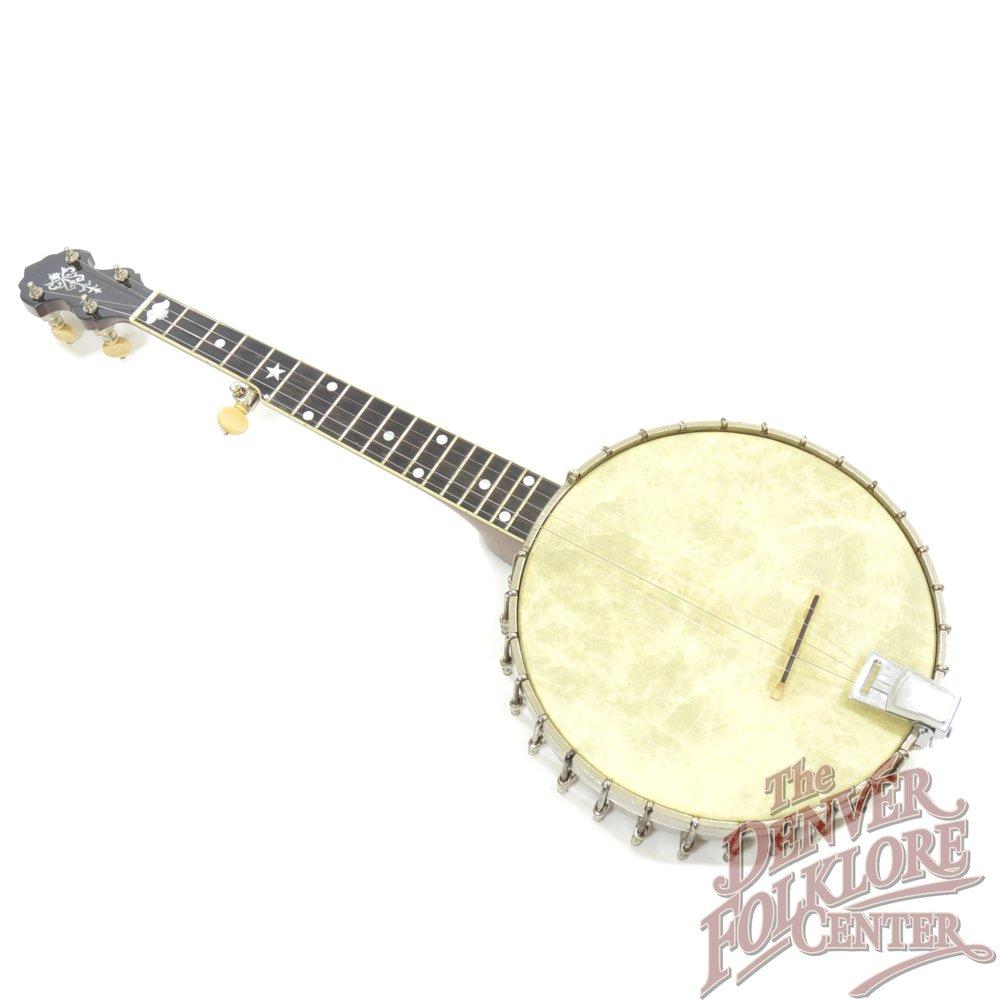 Vega Short Neck Banjo 10 Tubaphone Pot (c 1924)