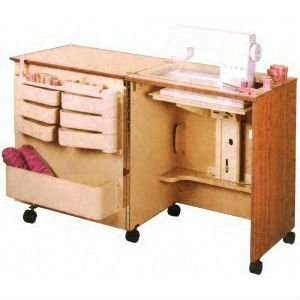 Horn Model 2136D.85 Compact Sewing Cabinet