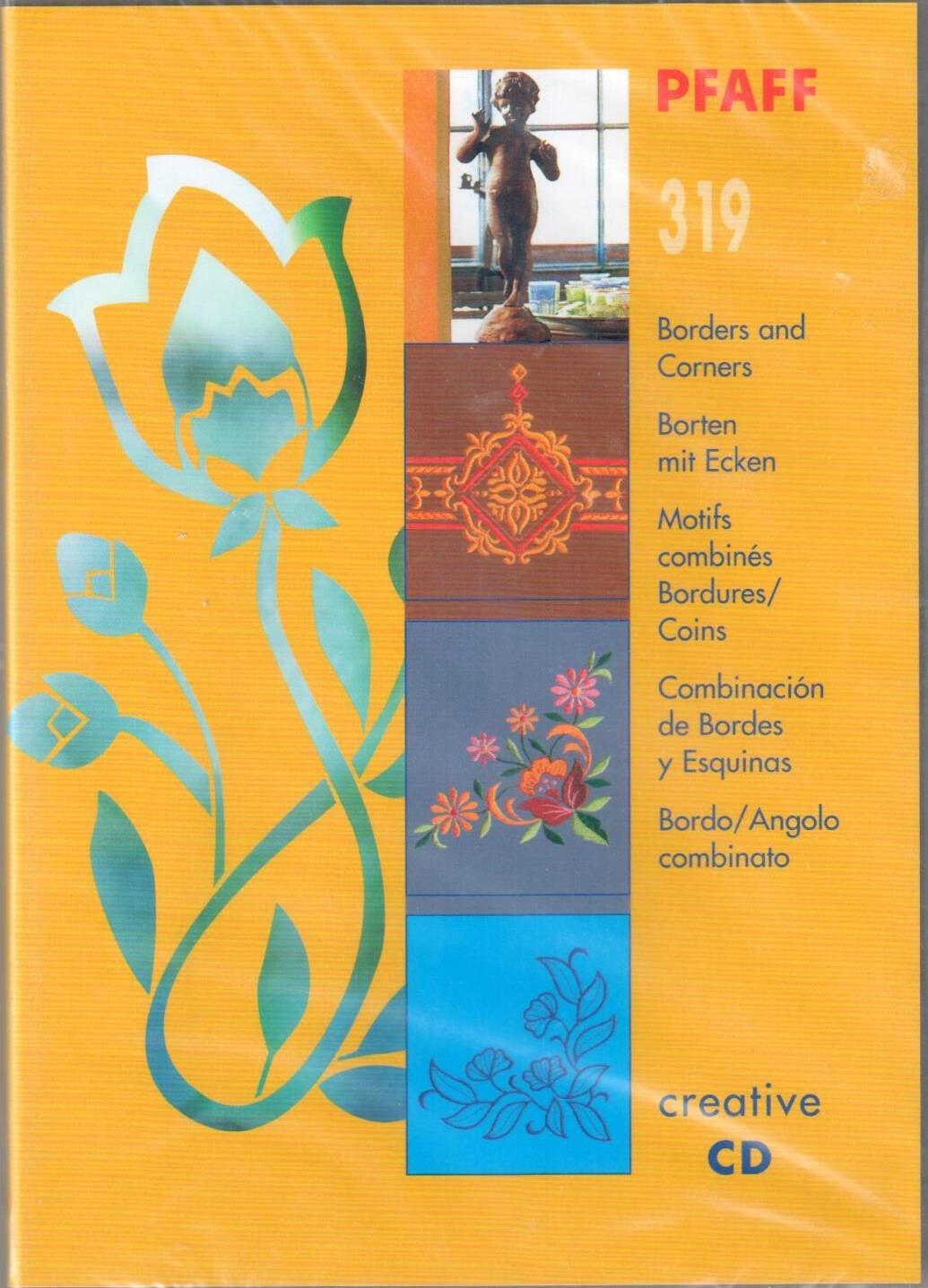 Pfaff Creative CD 319-Borders and Corners