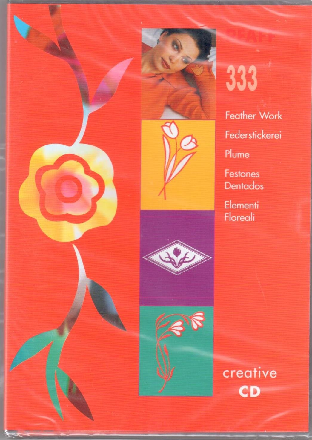 Pfaff Creative CD 333 Feather Work