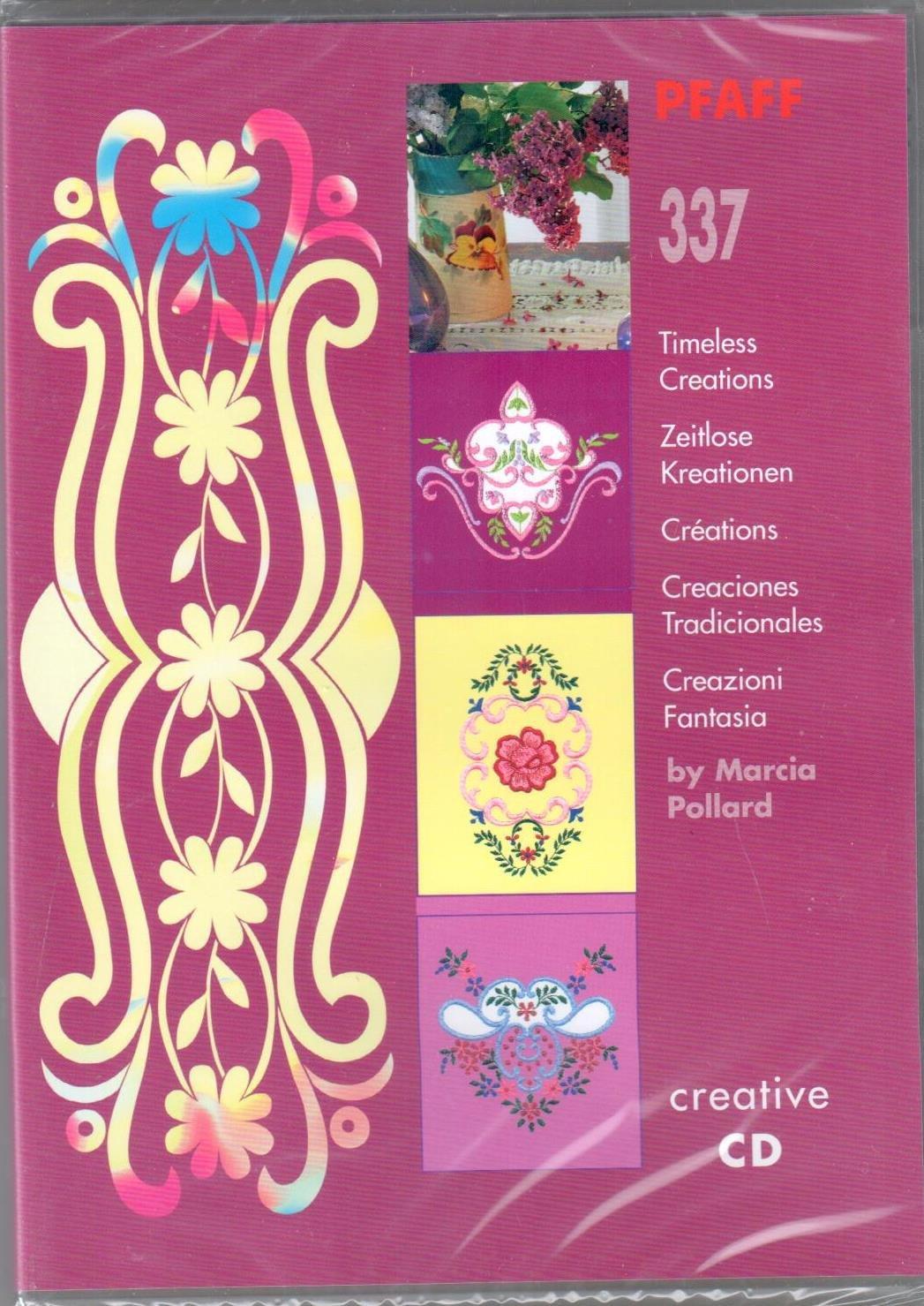 Pfaff Creative CD 337 Timeless Creatiions