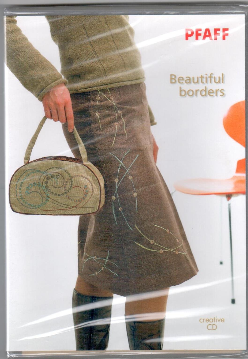 Pfaff Creative CD 350-Beautiful Borders