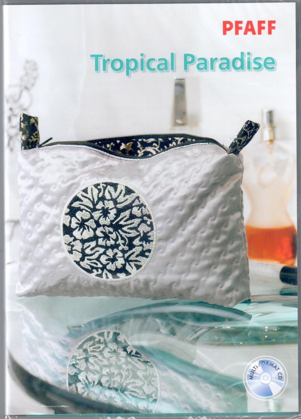 Pfaff Creative CD 376 Tropical Paradise