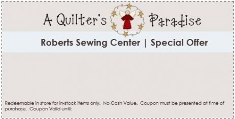 Roberts Sewing Center Worlds Largest Quilting Shop