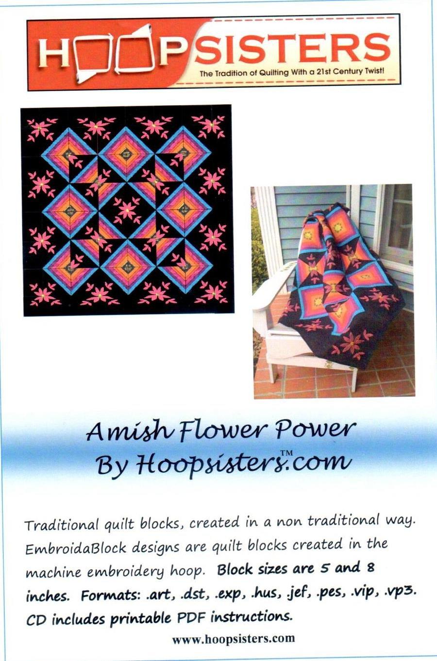 Amish Flower Power Hoopsisters