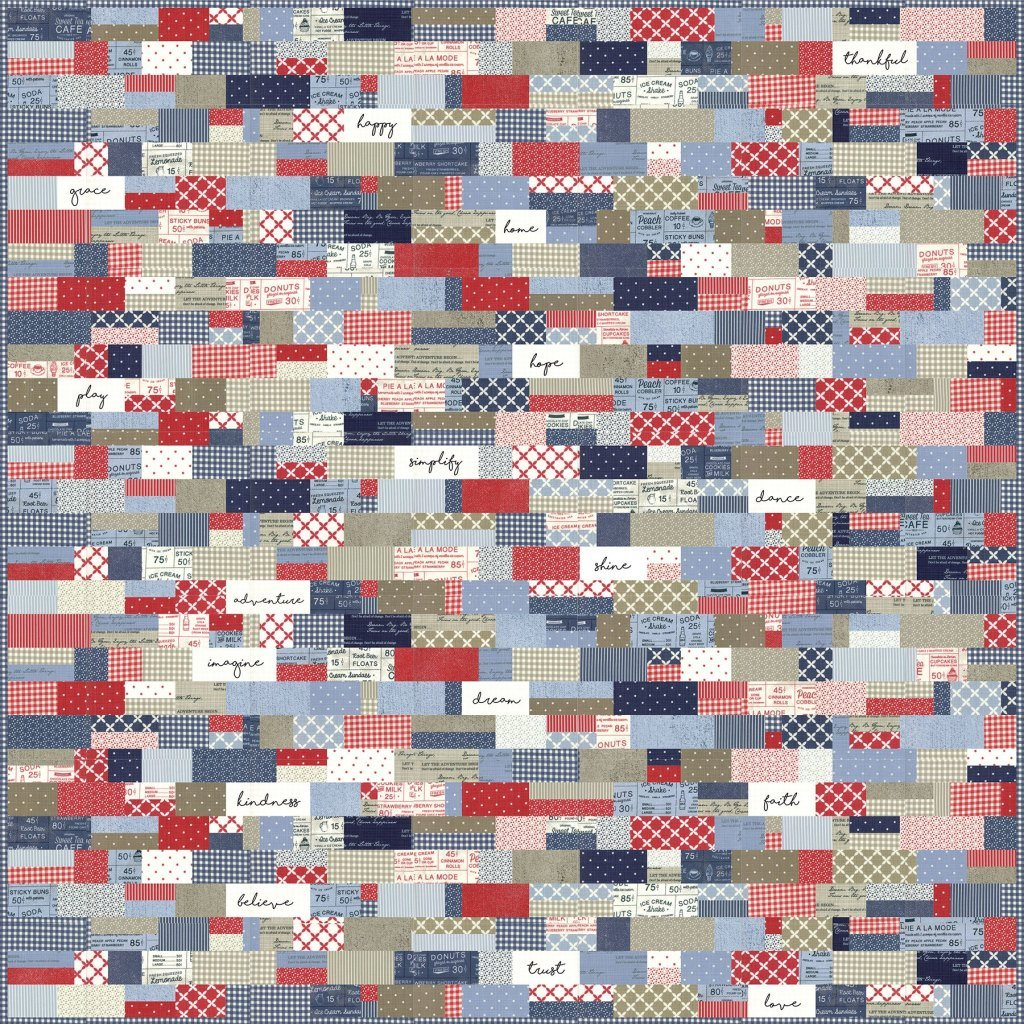 Cobblestone Quilt Kit