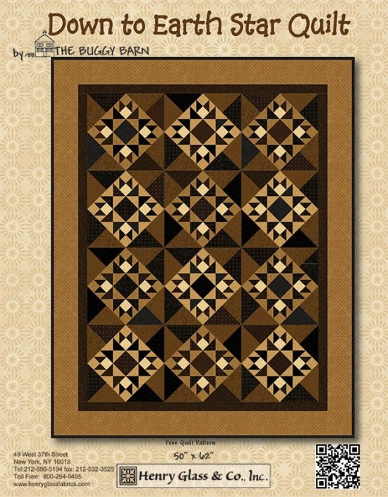 Down to Earth Star Quilt