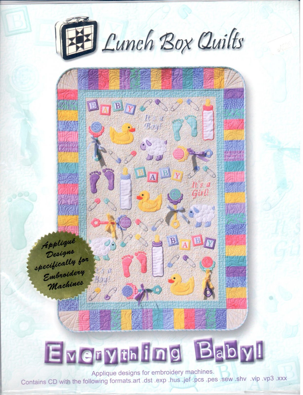 Lunch Box Quilts Everything Baby Embroidery Designs