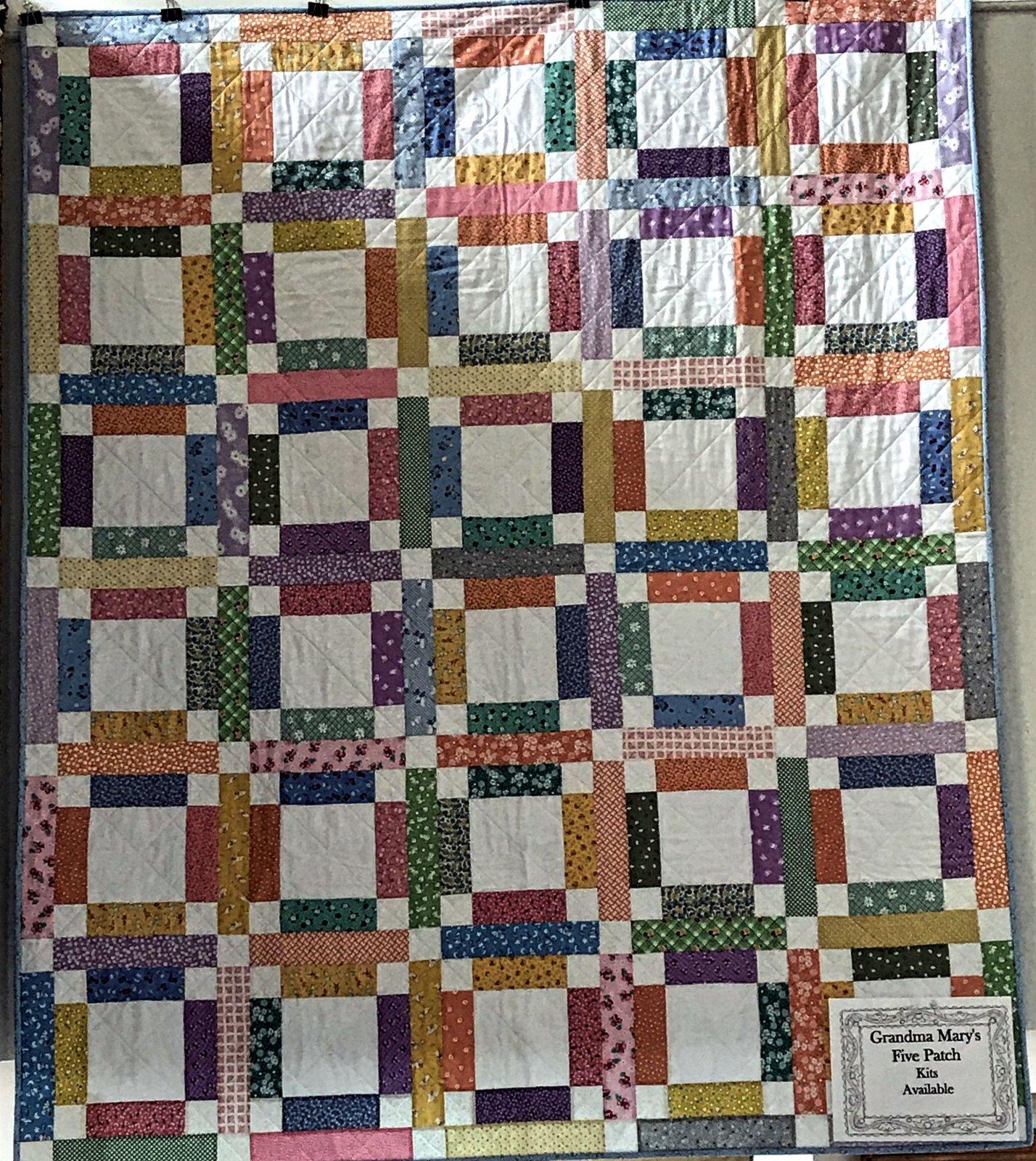 Grandma Mary's Five Patch Kit