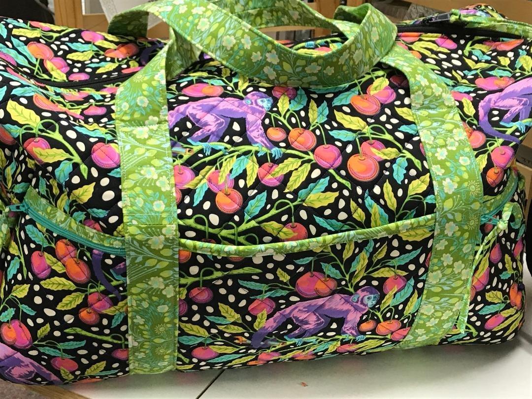 Fabric Kit for Travel Duffle Bag 2.0
