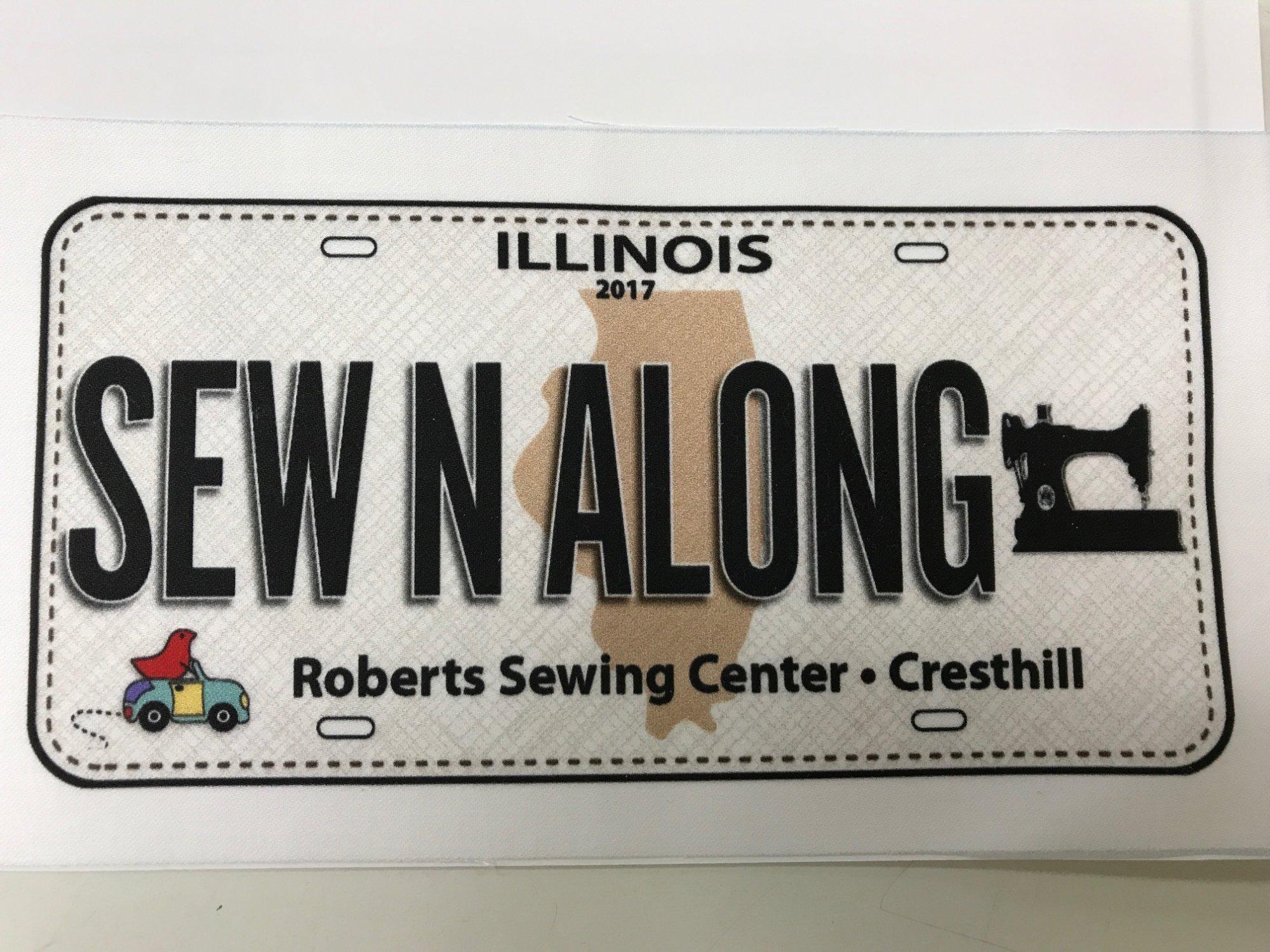 Row by Row Plate