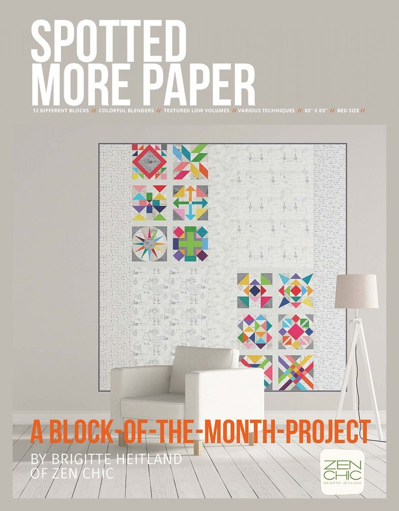 Spotted More Paper Quilt Kit