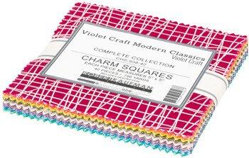 Violet Craft Charm Pack