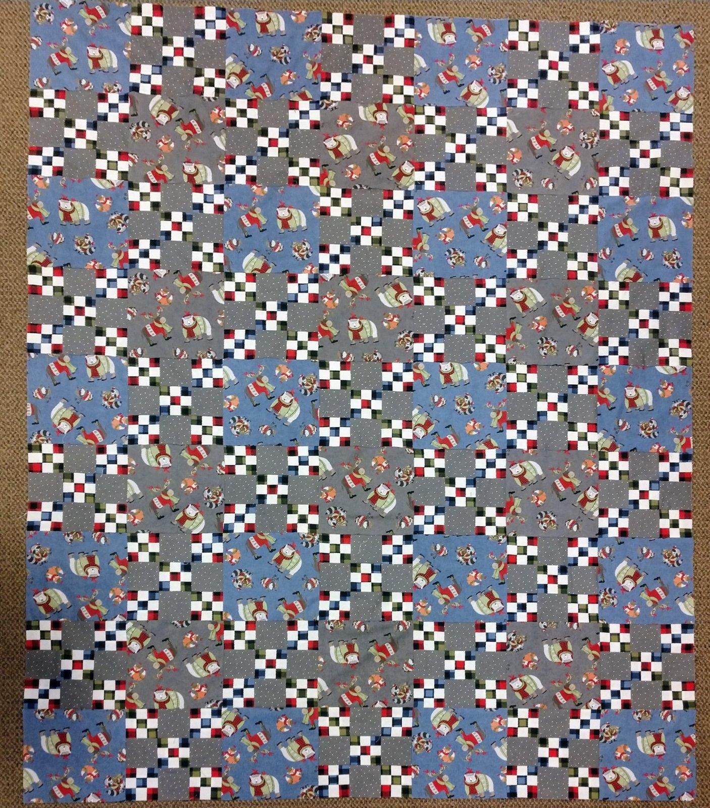 Cozy Critter's Quilt (63 x81)