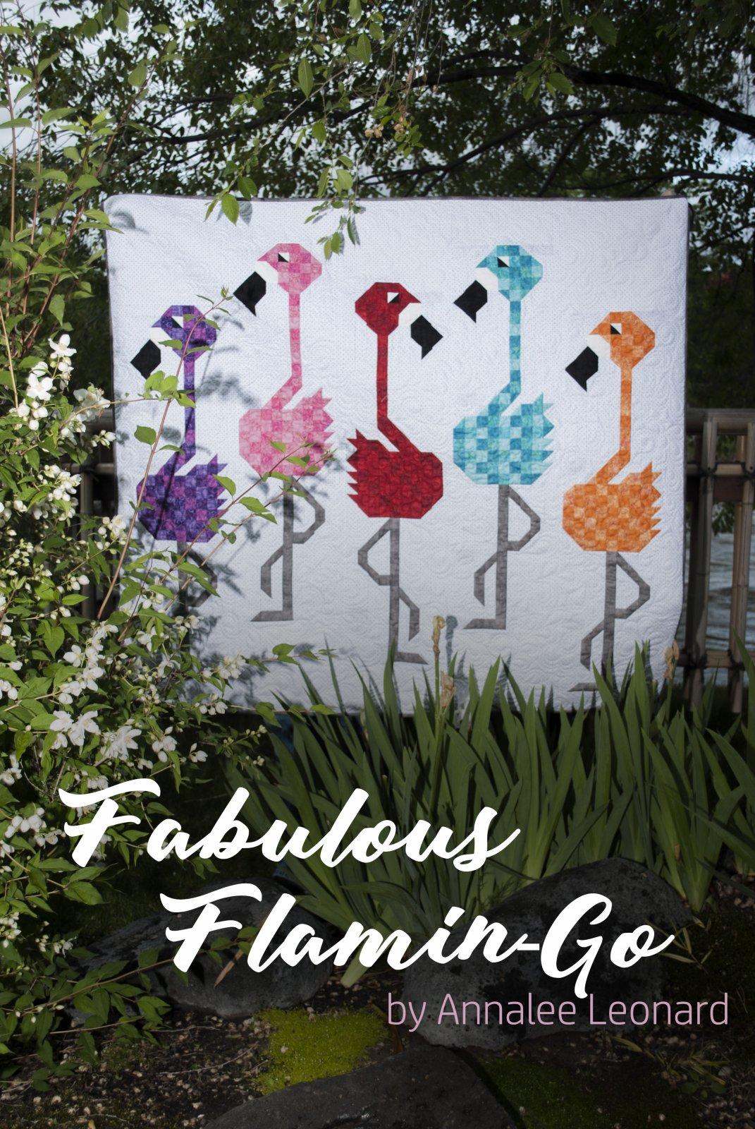 Fabulous Flamingo (2017 Row By Row) Pattern Only