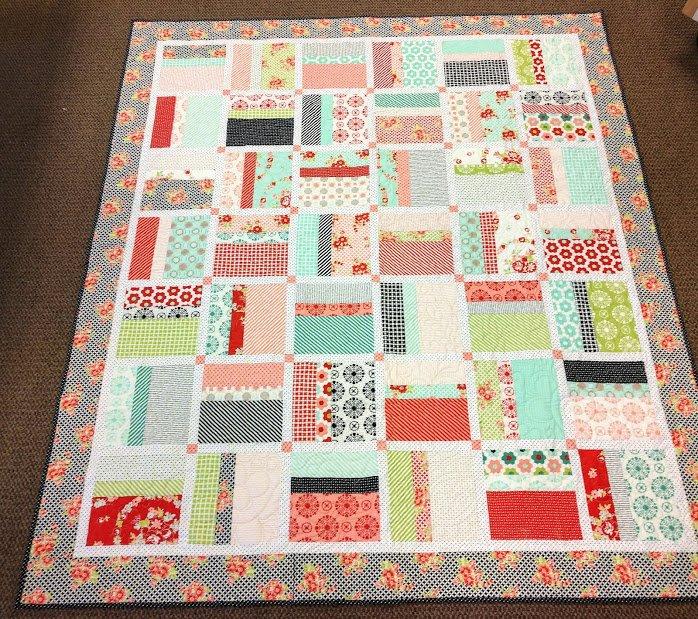 Handmade Quilt 65 x74