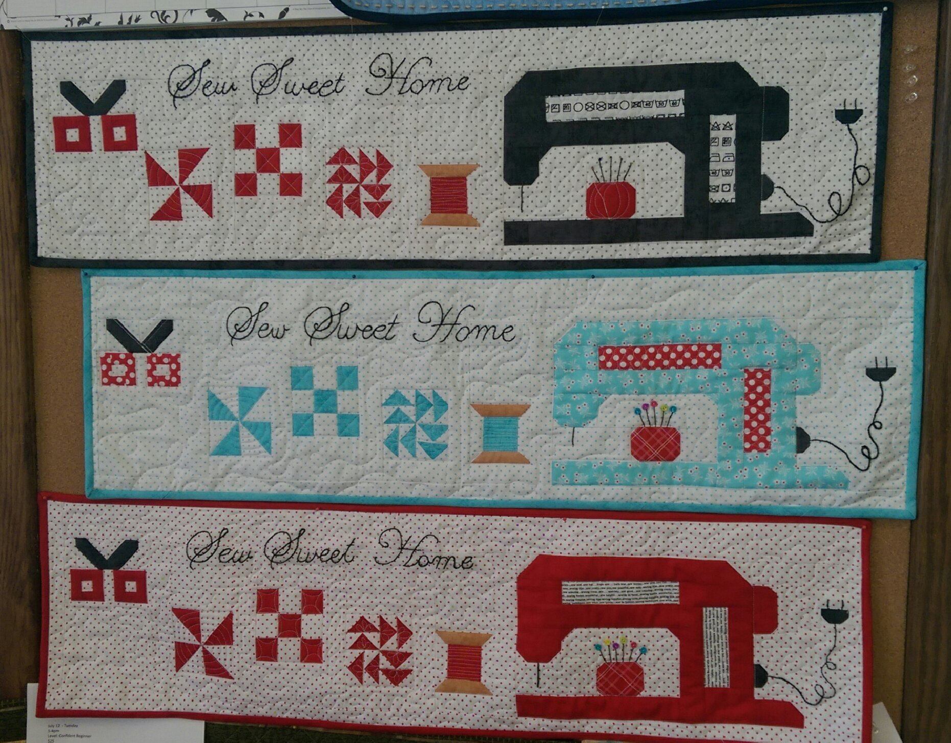 Sew Sweet Home Pattern (2016)