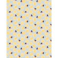 Chicken Scratch 98624-145 Blue Yolks & Feathers