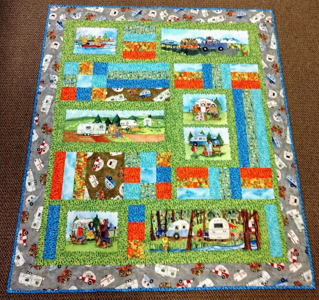 Quilter's Road Trip 50x58