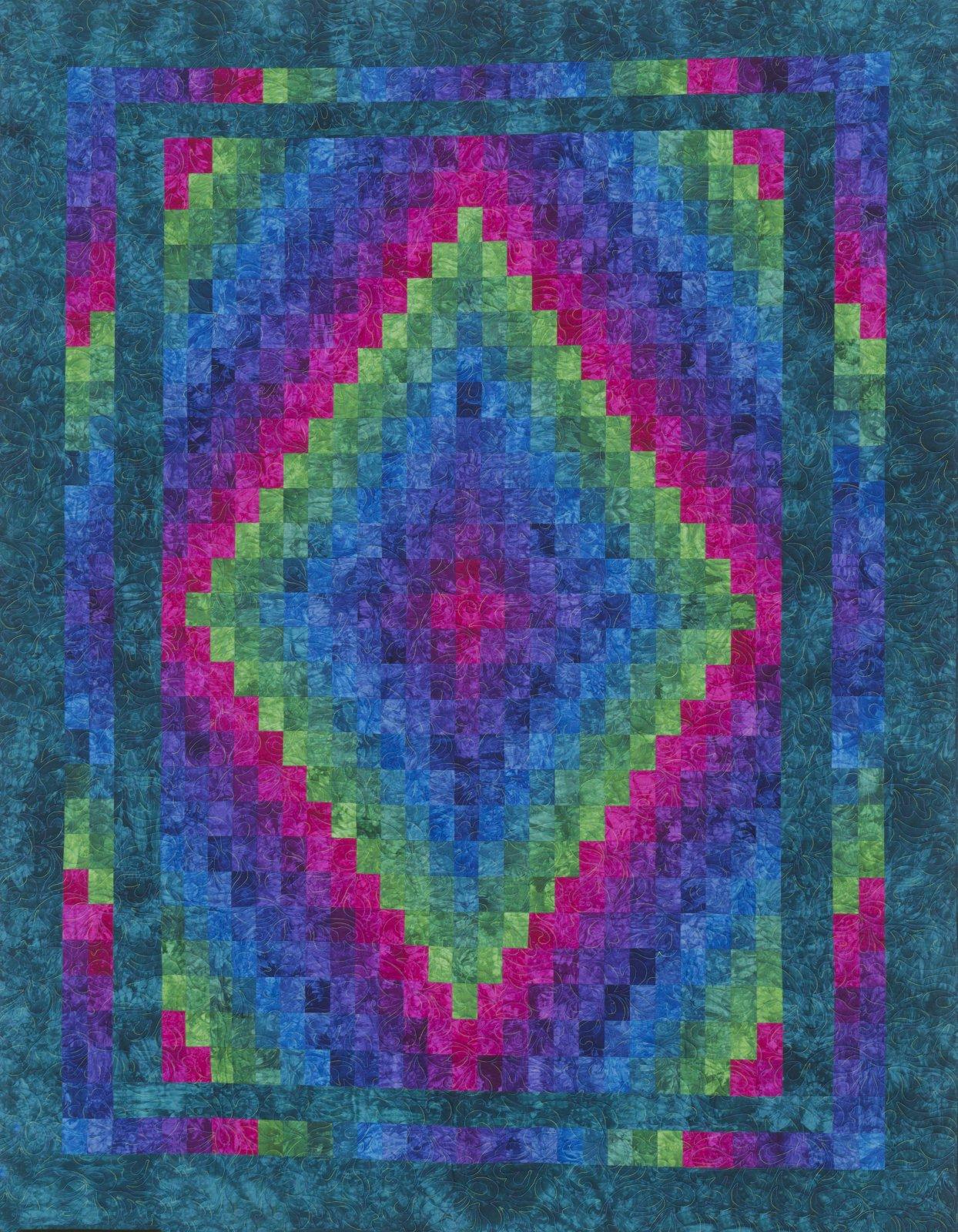 Harmony Quilt Kit - Jewel Tones