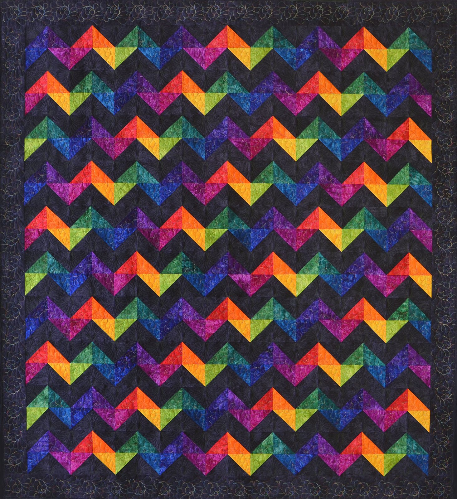 Rave Wave Quilt Kit