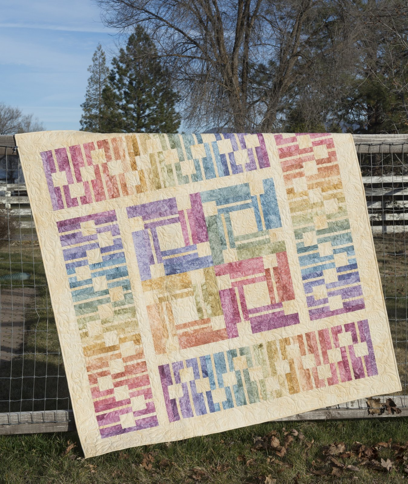Soundwavez Quilt Kit ~ Pastel