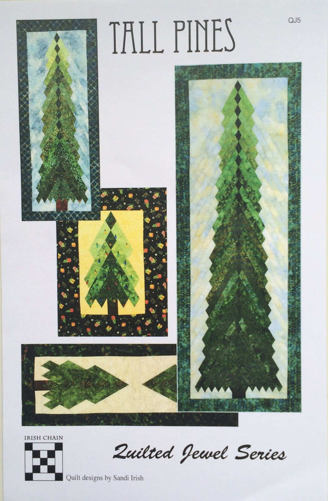 Tall Pines Pattern and Template Set