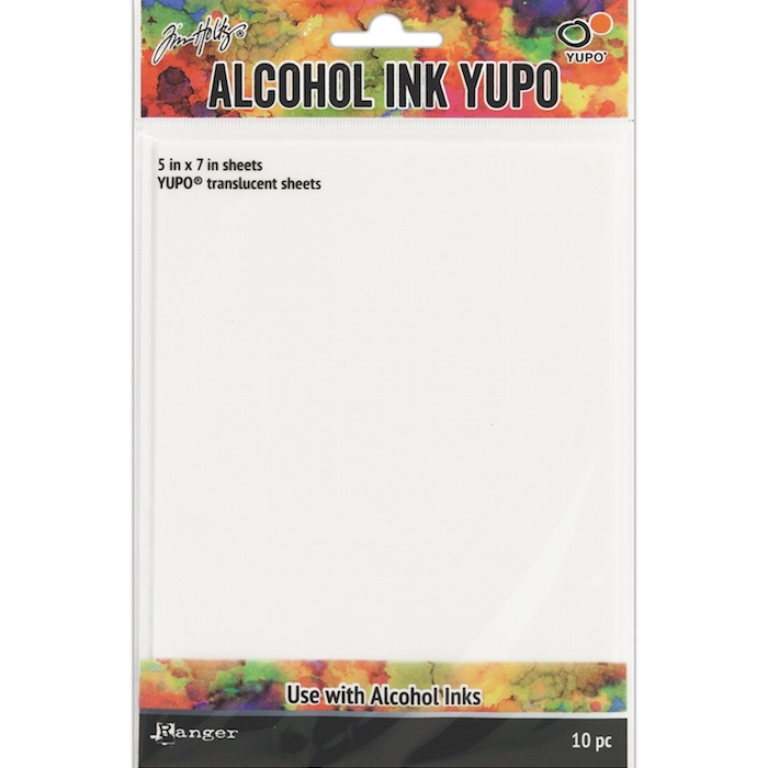 ALCOHOL INK YUPO SHEETS | TRANSPARENT