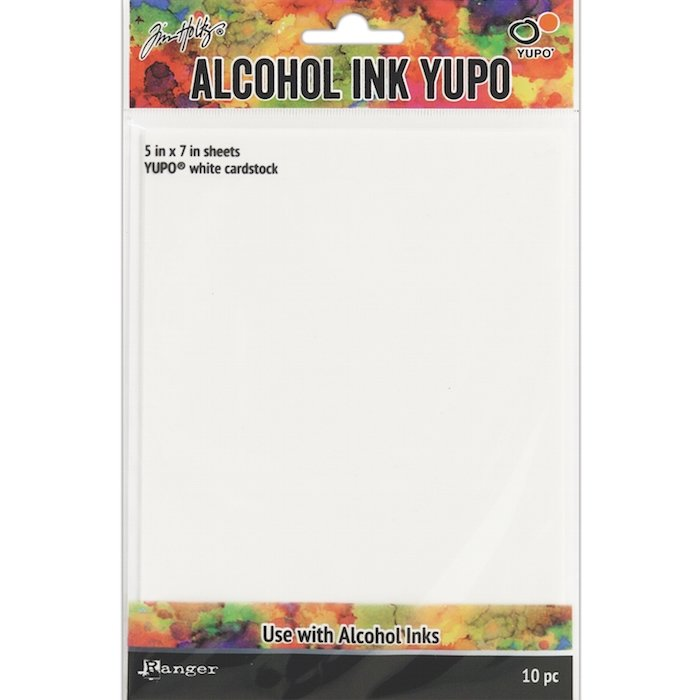 ALCOHOL INK YUPO CARDSTOCK | WHITE