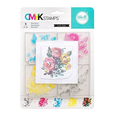 ROSE CMYK STAMP SET
