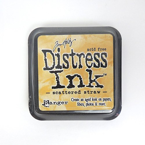 SCATTERED STRAW DISTRESS INK