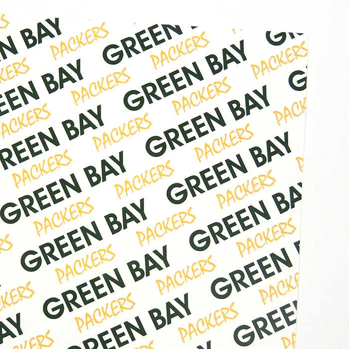GREEN BAY PACKERS PAPER | WHITE BOLD