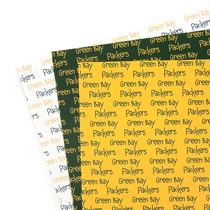 GREEN BAY PACKERS PAPER | GREEN