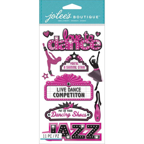 JOLEE'S DANCE STICKER