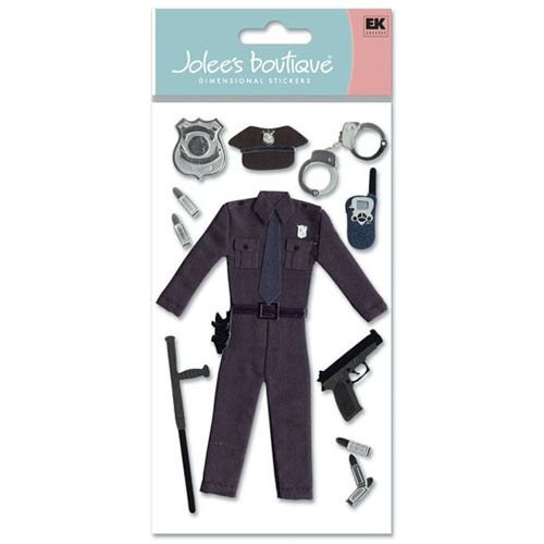POLICE OFFICER JOLEE'S STICKERS
