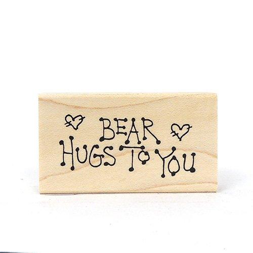 BEAR HUGS TO YOU STAMP