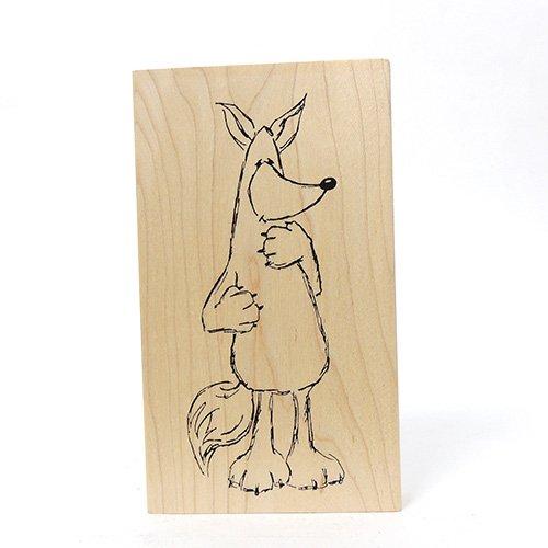 LG FOX CRITTER STAMP