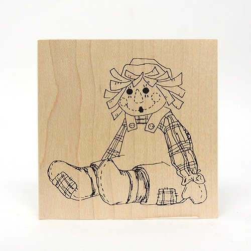 SITTING RAGGEDY ANDY STAMP