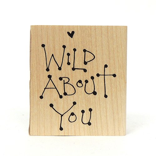 F65 SQUARE WILD ABOUT YOU STAMP