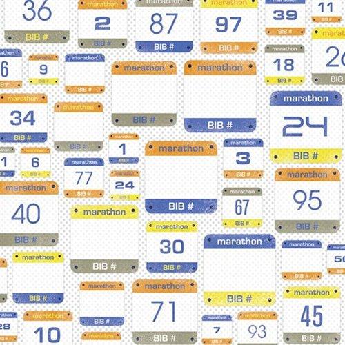 MARATHON NUMBERS 12X12 PAPER