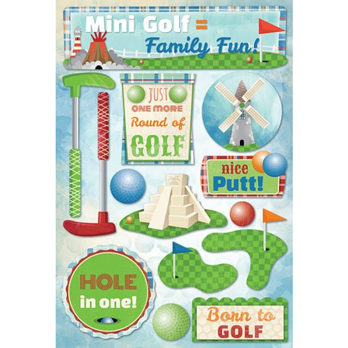 MINI GOLF STICKERS