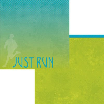 JUST RUN 12X12 PAPER