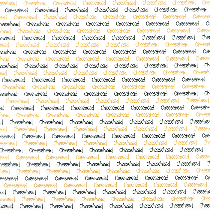 CHEESEHEAD SPIRIT PAPER | WHITE