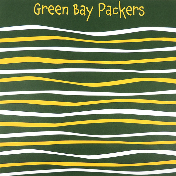 GREEN BAY PACKERS WAVE | GREEN