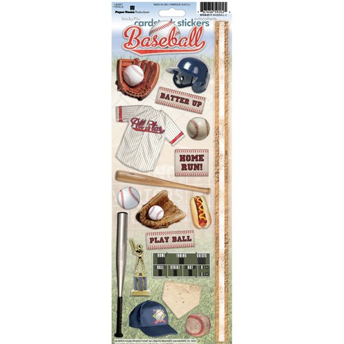 BASEBALL 2 STICKERS