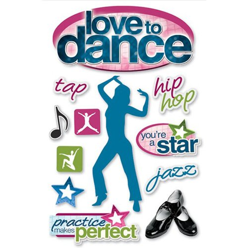 LOVE TO DANCE STICKERS