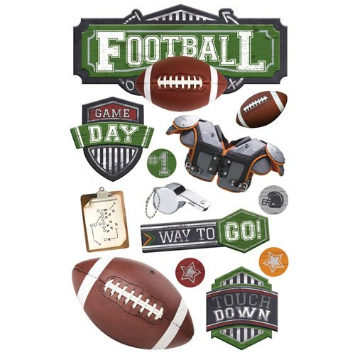 FOOTBALL 2 3D STICKER