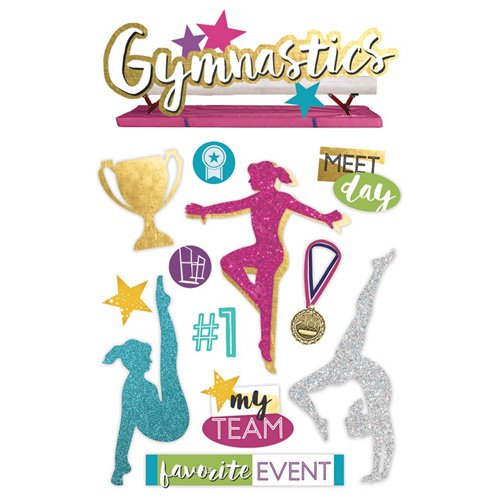 GYMNASTICS 3D STICKER
